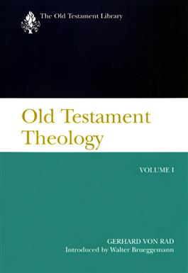 Old Testament Theology, Volume I (2001)