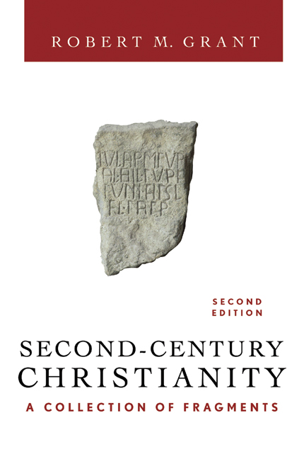 Second-Century Christianity, Revised and Expanded