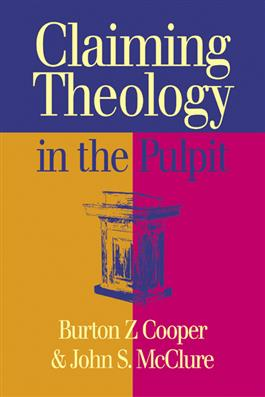 Claiming Theology in the Pulpit