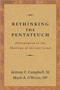 Rethinking the Pentateuch