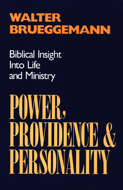 Power, Providence, and Personality