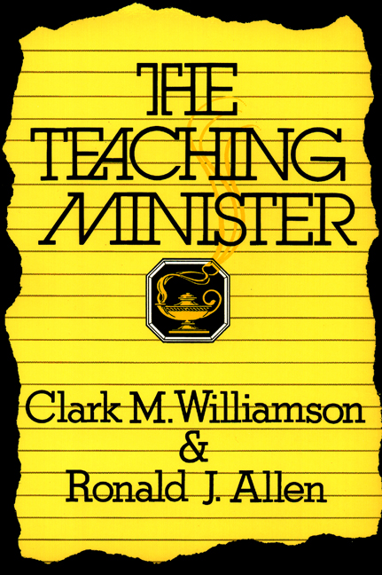The Teaching Minister