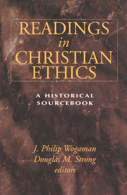 readings in christian ethics vol 2 Readings in christian ethics has 46 ratings and 1 review vocalbillity said: this  book is essential to read if you already read the 1st column they don.