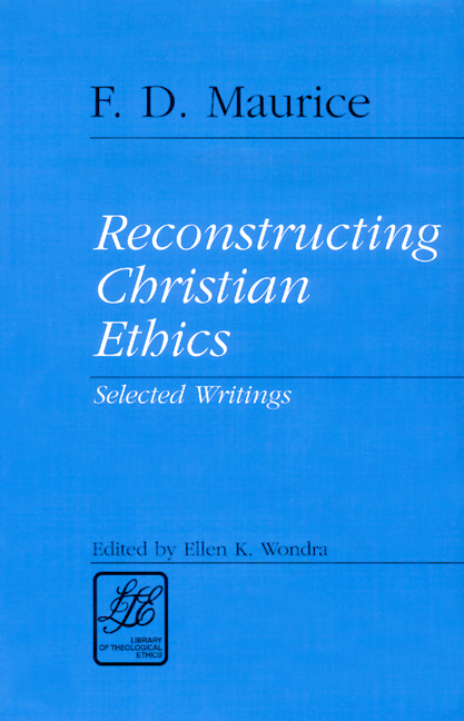 Reconstructing Christian Ethics