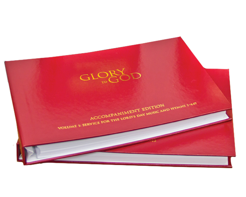 Glory to God (Red Accompaniment Edition)