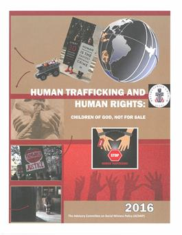 Human Trafficking and Human Rights: Children of God Not for