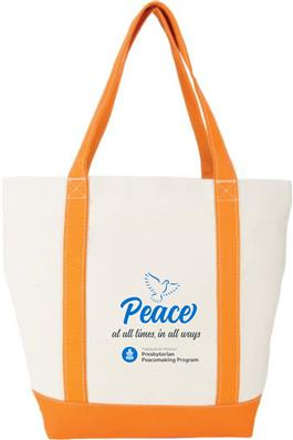 New Peacemaking Canvas Tote Bag