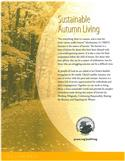 Just Living: Sustainable Autumn Living (Limit of 10)