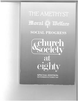 Church & Society 1989
