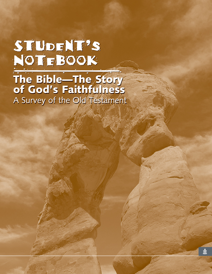 Story of God's Faithfulness: A Survey of the Old Testament, Student's Notebook