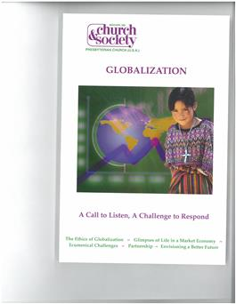 Church & Society March/April 2006 Magazine<br> Globalization
