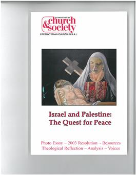 Israel & Palestine: The Quest to Peace