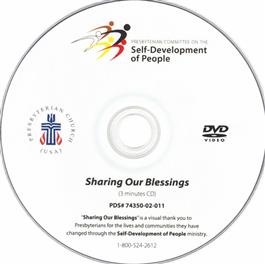 SDOP Sharing Our Blessings CD