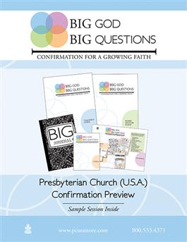 Big God Big Questions: Confirmation for a Growing Faith Sample Book