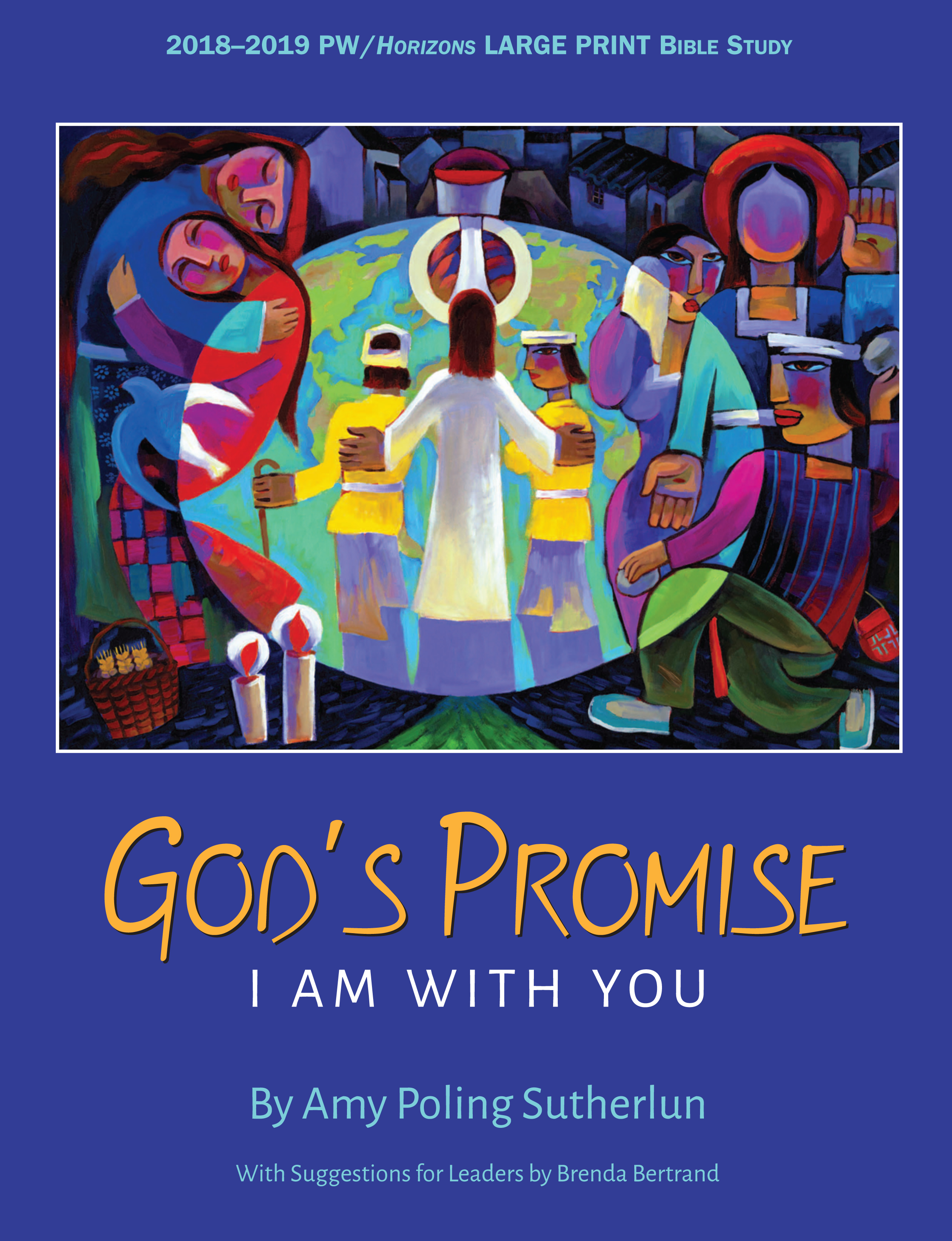 God's Promise: I Am With You, Large Print Edition