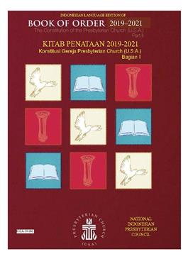 Indonesian Book of Order 2019/2021 PDF downloadable version