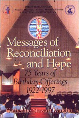 Messages of Reconciliation & Hope - 75 years of Birthday Offering
