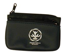 PW-Logo Keyring/Zippered Pouch