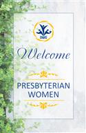 Welcome PW Garden Banner, English
