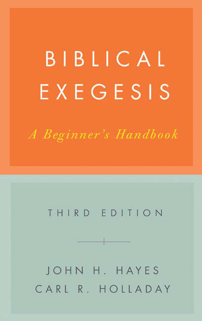 Biblical Exegesis, Third Edition