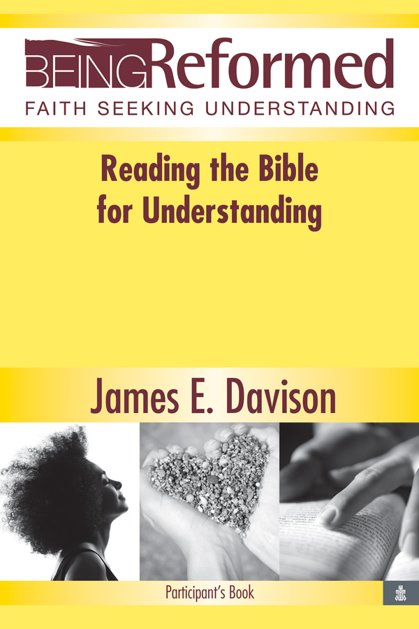 Reading the Bible for Understanding, Participant's Book